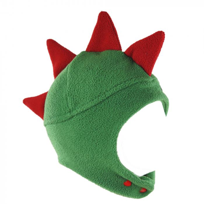 Căciulă Dino - Verde/Roșu 3