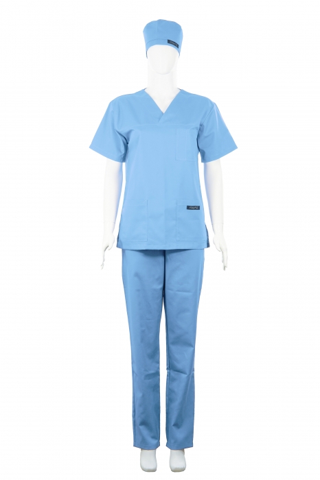Costum Medical Unisex bleu 1