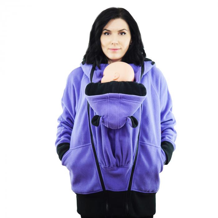 Hanorac 3 în1 Babywearing - Lila S 10