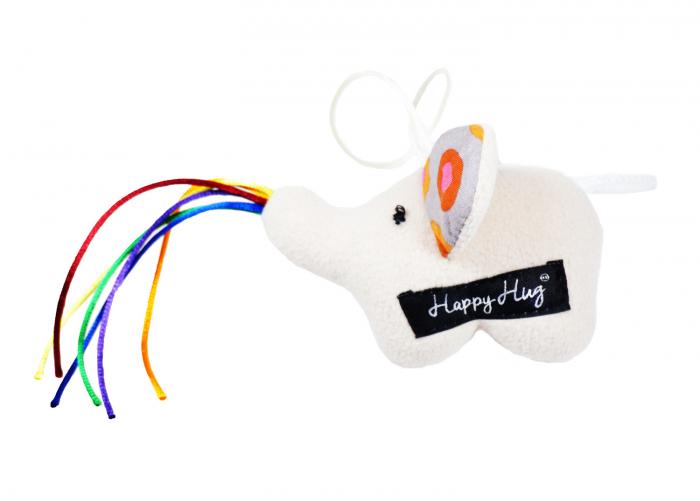 Jucărie - Elefant Crem 0