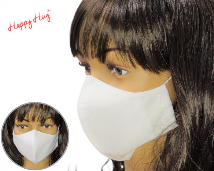 Mască Textilă - Alb [0]