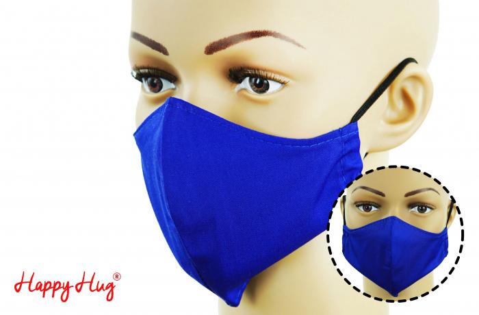 Mască Textilă - Albastru 0