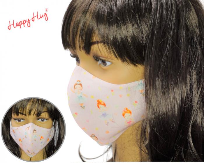 Mască Textilă - Balerine roz [0]