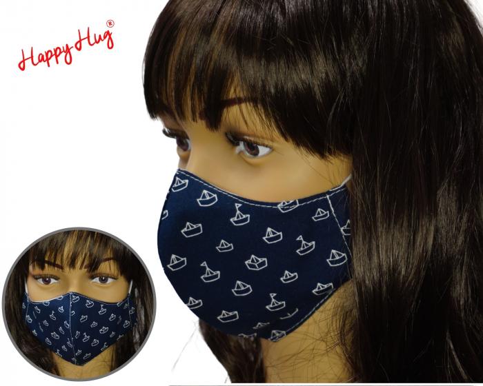 Mască Textilă - Barcute [0]