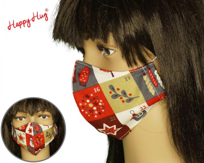 Mască Textilă  - Calendar advent ergo 0
