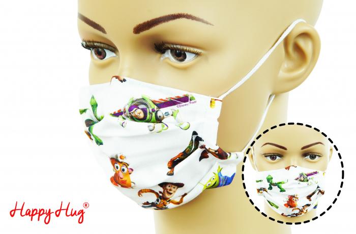 Mască Textilă cu Pliuri - Toy Story 0