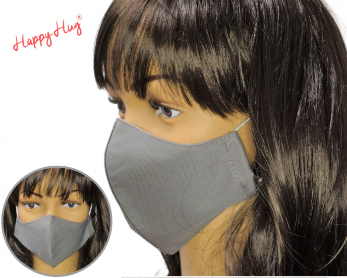 Mască Textilă - Gri [0]