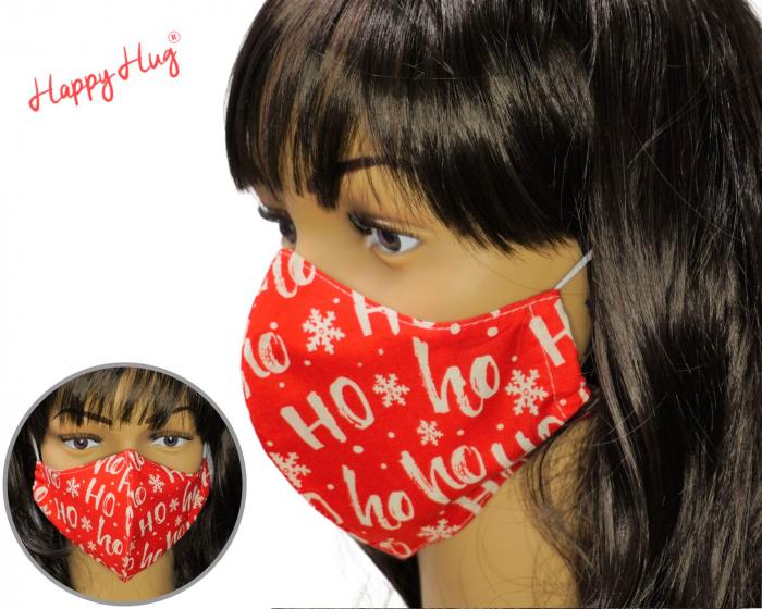 Mască Textilă - Ho Ho Ho [0]