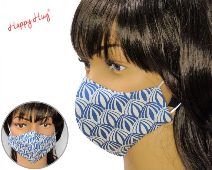 Mască Textilă - Motiv Abstract 0