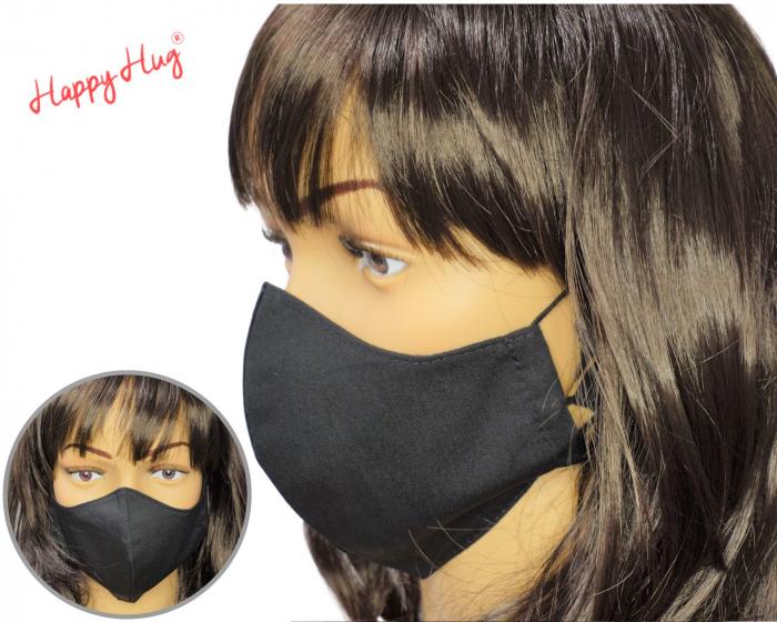 Mască Textilă - Negru [0]