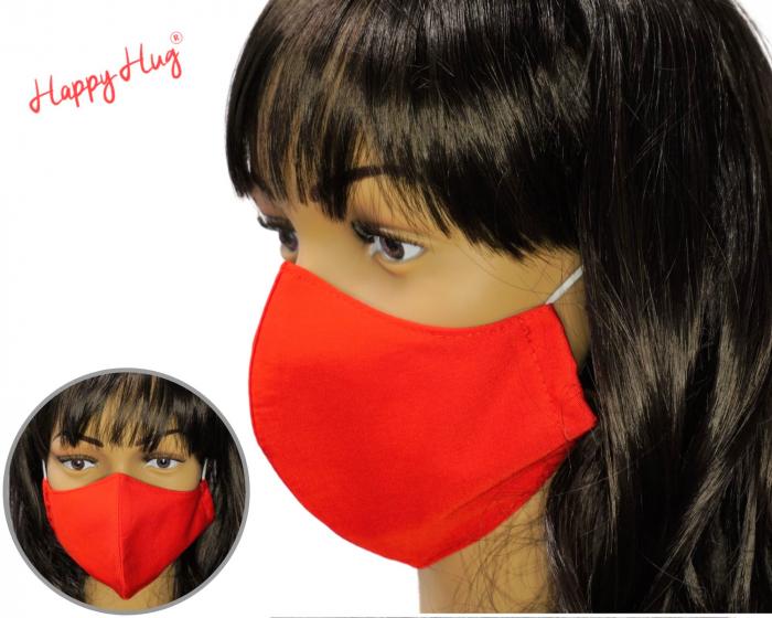 Mască Textilă - Roșu [0]