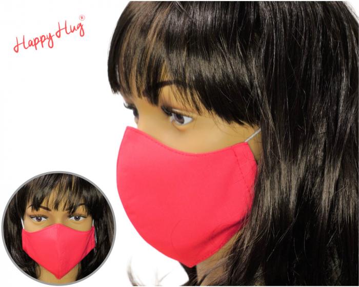 Mască Textilă - Roz Ciclam [0]