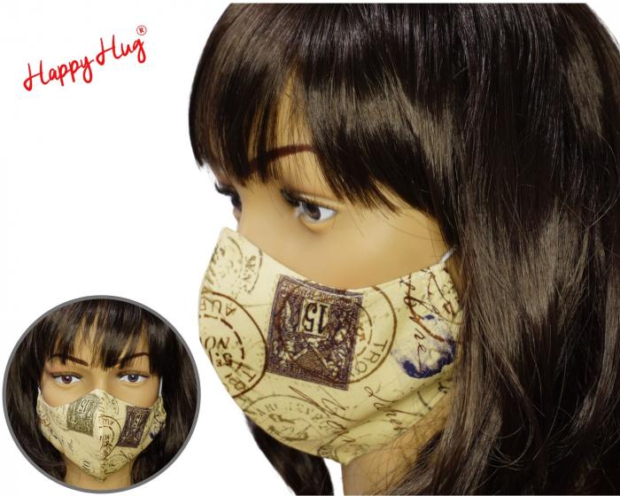 Mască Textilă - Ștampile  [0]