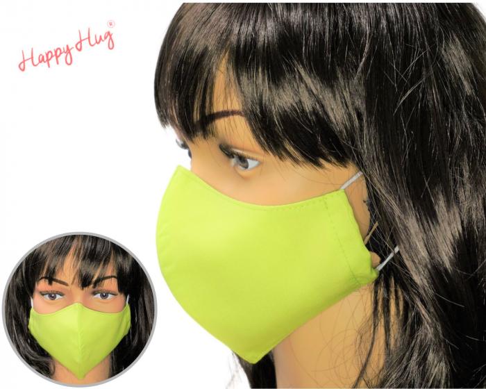 Mască Textilă - Verde Praz 0