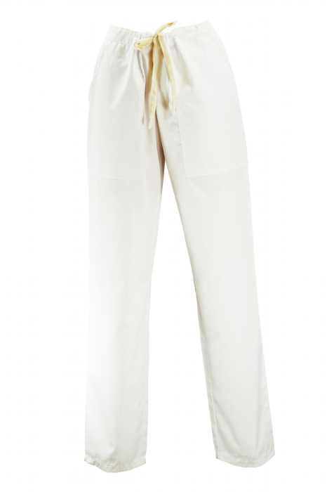 Pantalon cu Buzunare - Alb 2XL 0