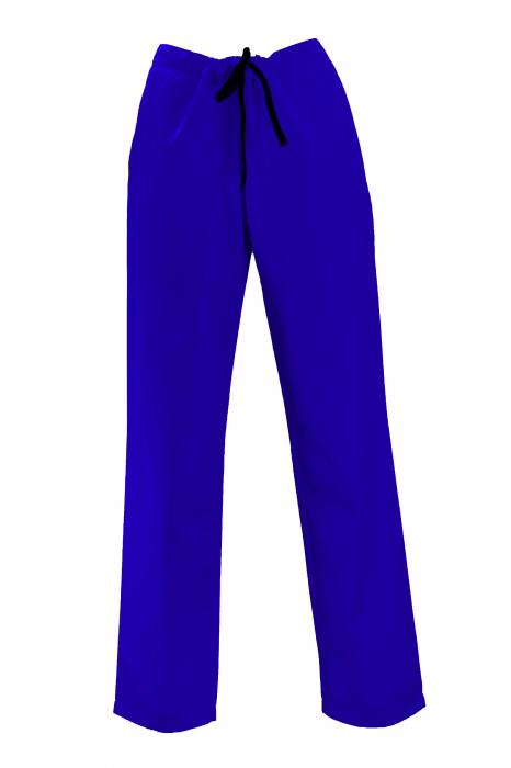 Pantalon cu Buzunare - Albastru 2XL 0