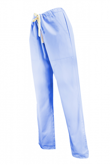 Pantalon cu Buzunare - Bleu 2XL 1