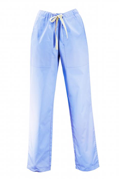 Pantalon cu Buzunare - Bleu 2XL 0