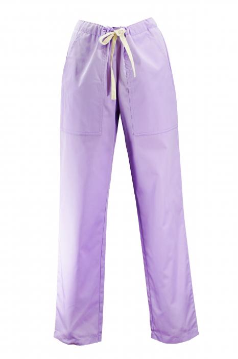 Pantalon cu Buzunare - Lila 2XL 0