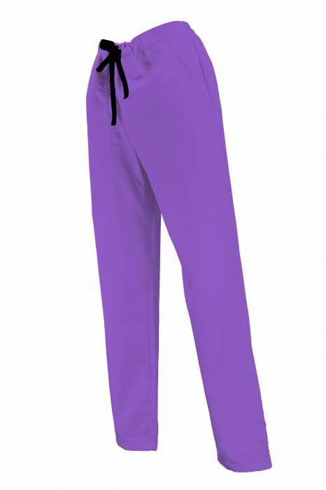 Pantalon cu Buzunare - Mov Închis 2XL 1