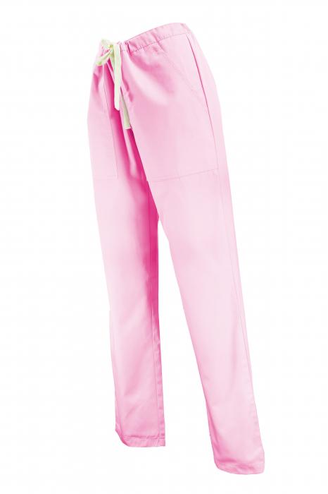 Pantalon cu Buzunare - Roz Deschis 2XL [1]