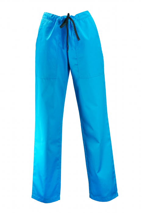 Pantalon cu Buzunare - Turcoaz 2XL [0]