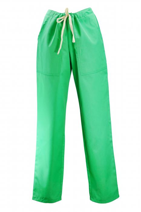 Pantalon cu Buzunare - Verde 2XL 0