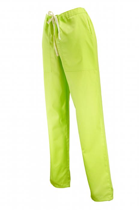 Pantalon cu Buzunare - Verde Praz 2XL [1]