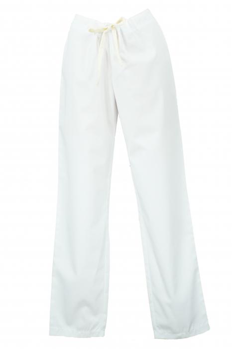 Pantalon fără Buzunare - Alb 36 [0]