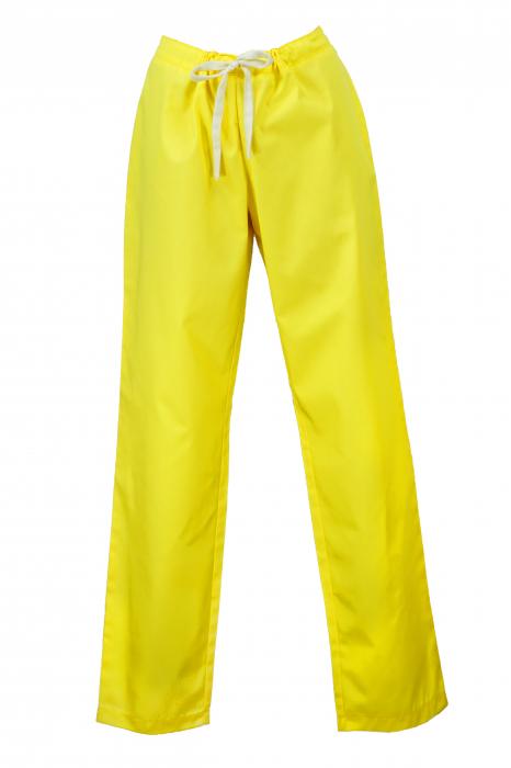 Pantalon fără Buzunare - Galben 36 [0]