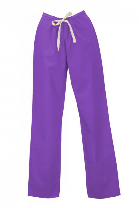 Pantalon fără Buzunare - Mov 36 0