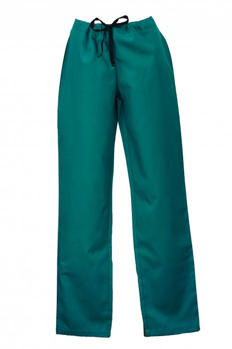 Pantalon fără Buzunare - Teal 36 [0]