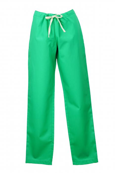Pantalon fără Buzunare - Verde 36 0