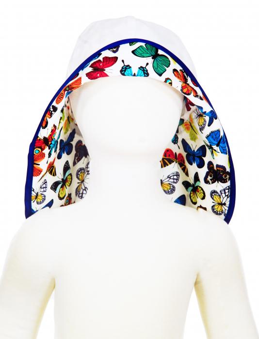Pălărie de Soare - Fluturi Colorați 3