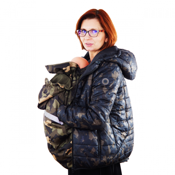 Protecție Iarnă fără Urechi - Cargo/Kaki 9