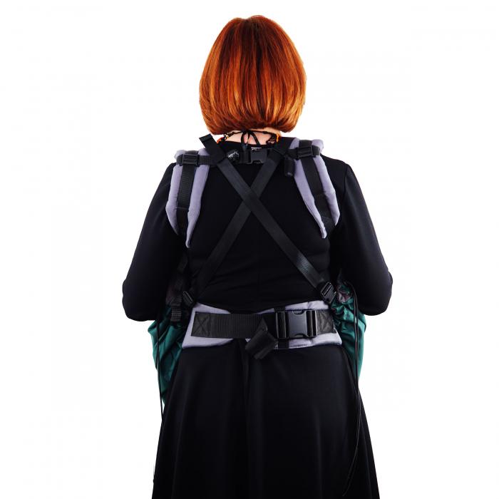 Protecție Iarnă fără Urechi - Dark Verde/Negru 8