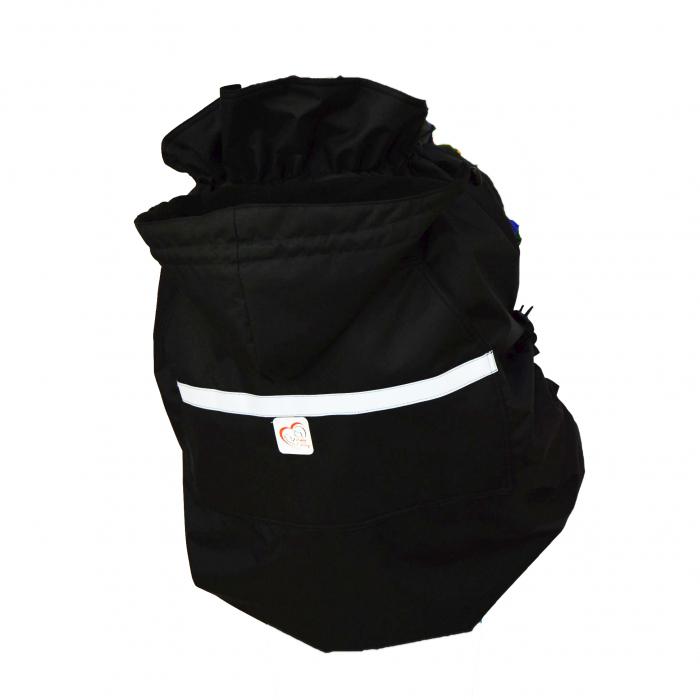 Protecție Iarnă Fără Urechi Negru/Negru  [1]