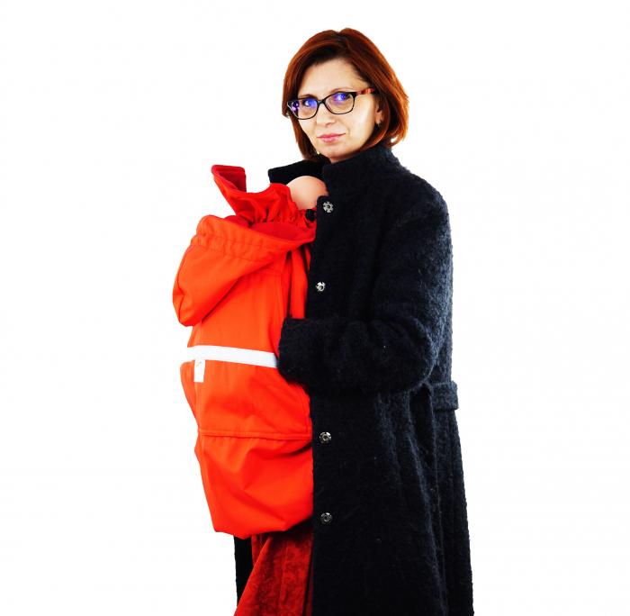 Protecție Iarnă fără Urechi - Red/Red  7