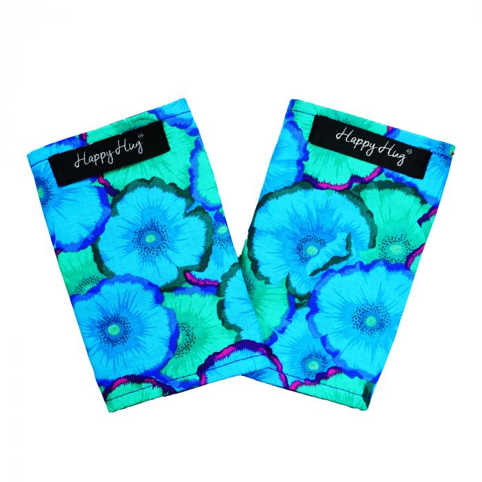 Protecții Bretele - Flori Turcoaz 0