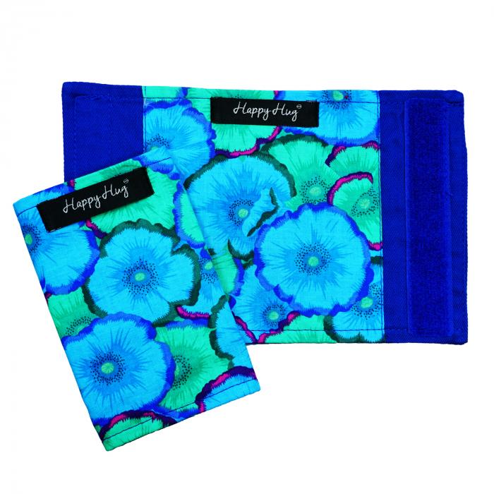 Protecții Bretele - Flori Turcoaz 1