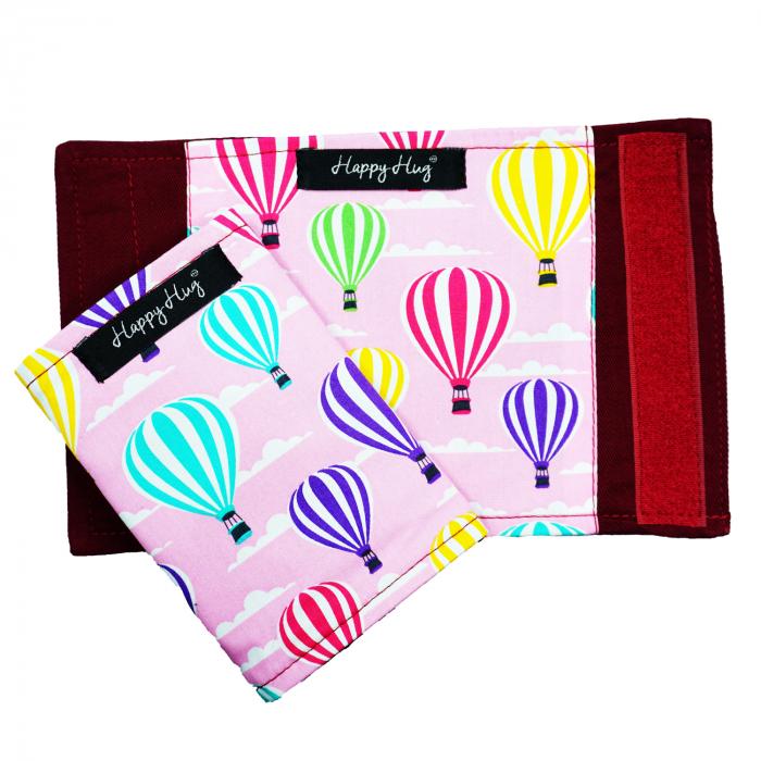 Protecții Bretele - Roz Balloons 1