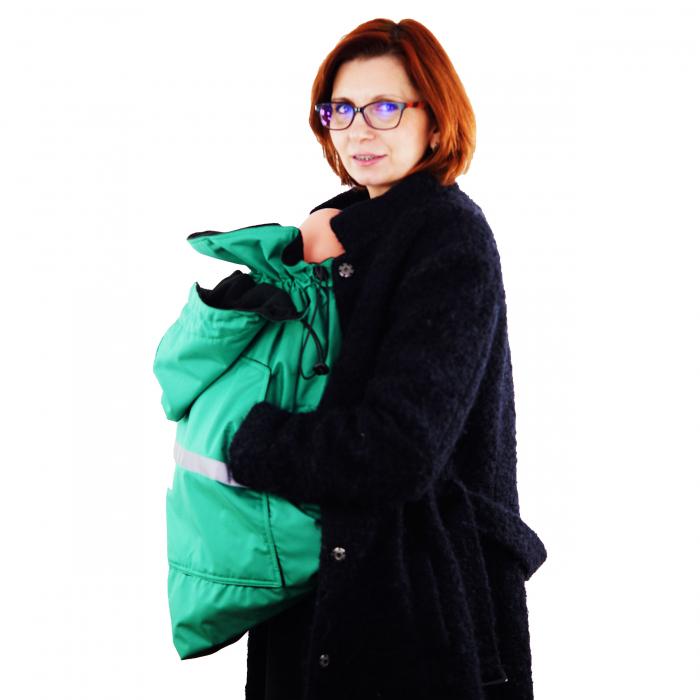 Protecție Iarnă fără Urechi - Light Verde/Negru  4