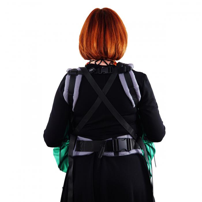 Protecție Iarnă fără Urechi - Light Verde/Negru  3