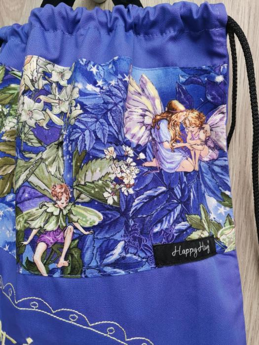 Săculeț Personalizat - Purple Fairies 2