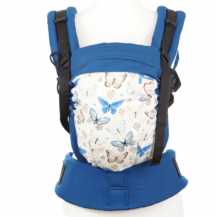 SSC Designer print - Cream Butterflies Baby (+1 luni) 3