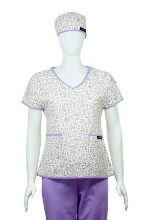 Bluză compleu - Bebelusi (mov)1