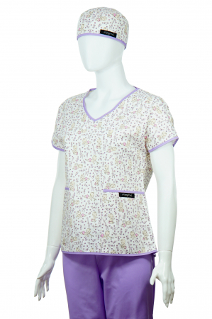 Bluză compleu - Bebelusi (mov)2