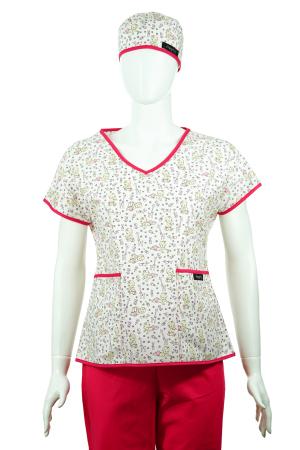 Bluză compleu - Bebelusi (roz)1