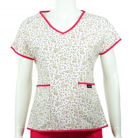 Bluză compleu - Bebelusi (roz)0