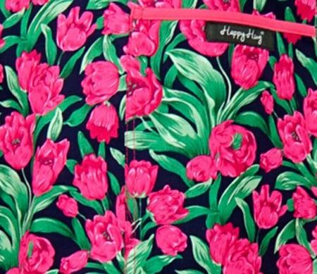 Bluză Compleu - Designer Print - Pink Flowers3